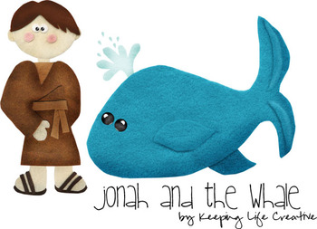 Jonah and the Whale Story Set