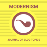 Discussion, Journal or Blog- Modernism Topics