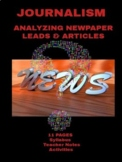 Journalism: Analyzing Newspaper Leads and Articles Worksheets