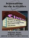 Journalism Movie Activities
