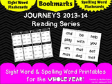 Journeys 1st Grade: Bookmarks, Sight Word & Spelling Word