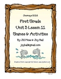 Journeys 2014 First Grade Unit 3 Lesson 11 Games and Activities