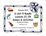 Journeys 2014 Kindergarten Unit 5 Bundle