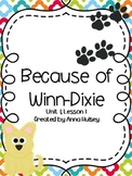 Journeys Fourth Grade: Because of Winn-Dixie