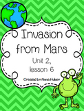 Journeys Fourth Grade: Invasion from Mars