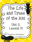 Journeys Fourth Grade: The Life and Times of the Ant