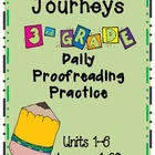 Journeys New Reading Series Grade 3 Daily Proof Reading Practice
