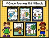 Journeys Reading 1st Grade (Unit 4) Bundle of 5 Stories (3