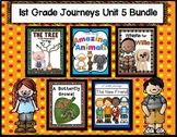 Journeys Reading 1st Grade (Unit 5) Bundle of 5 Stories (3
