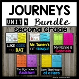Reading 2nd Grade (Unit 4) Bundle of 5 Stories (30 Literac