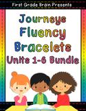 Journeys Sight Word Fluency Bracelets Bundle - 1st Grade U