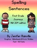 Journeys Spelling: Sentences