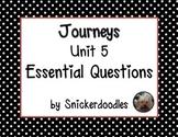 Journeys Unit 5 Essential Questions
