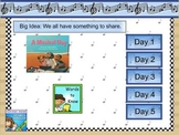 Journeys first grade smartboard Unit 2 Lesson 8
