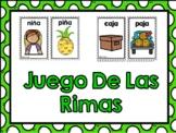 Rhyming Words Game-Juego de las Rimas