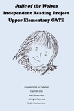 Julie of the Wolves -- Independent GATE Reading Project Up