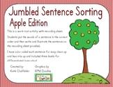 Jumbled Sentence Sorting-Apple Edition