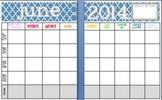 June 2014 Editable/Customizable Curriculum Planning Calendar