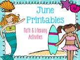 June Printables