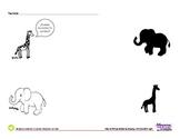 Jungle Animals Spanish Lesson (Complete Set) - Animales de