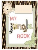 Jungle Theme Communication/Homework Folder