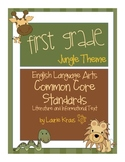 Jungle Theme First Grade Common Core