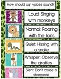 Jungle Theme Voice Level Chart
