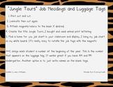 Jungle Themed Classroom Job Pieces