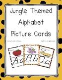 Jungle Themed D' Nealian Alphabet Cards