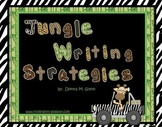 Jungle Writing Strategy Posters