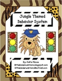 Jungle theme stoplight behavior management system