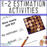K-2 Estimation Activities for Entire Year