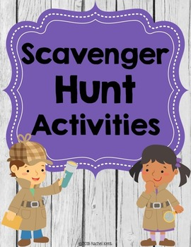 Scavenger Hunt Activities