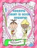 KEEPING CLEAN IS GOOD HYGIENE {DENTAL HEALTH & WASHING UP}