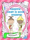 KEEPING CLEAN IS GOOD HYGIENE {DENTAL HEALTH & WASHING UP}