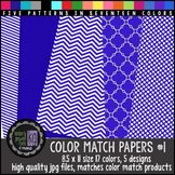 KG Color Match Papers Set One