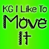 KG I Like To Move It Font: Personal Use