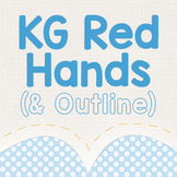 KG Red Hands Font: Personal Use