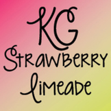 KG Strawberry Limeade Font: Personal Use