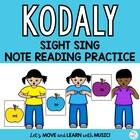 KODALY SIGHT SINGING Practice  *so *mi *la *Curwen Hand Si