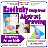 Art Lesson - Kandinsky-Inspired Abstract Art - Geometry In