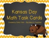 Kansas Day Math Problem Solving Task Cards Scoot FUN!!