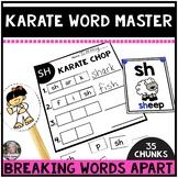 Karate Word Master- Word Attack Skills using Digraphs and Chunks