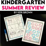 Keeping Up With Kindergarten - Summer Review for Kindergarten