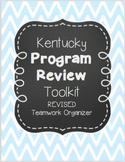 Kentucky Program Review Toolkit & Professional Portfolio O