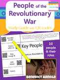 Key People of the American Revolution Study Guide with QR