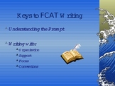 Keys to FCAT Writing of Expository Essays