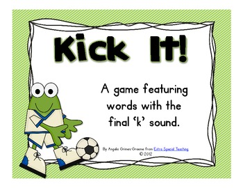 Kick It! - A Final K Sound Game