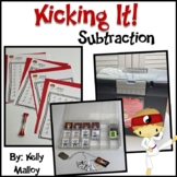 Math Facts - Subtraction Facts Fluency Program - Kicking I