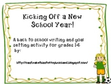 Kicking off a New School Year!  A community building/goal